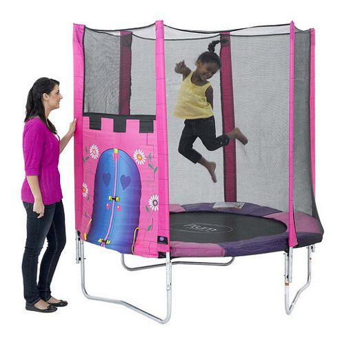 Plum 6ft Trampoline & Enclosure, Fairy Castle