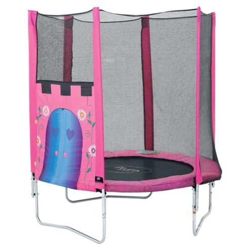 Plum Fairy Castle 6ft Trampoline & Enclosure