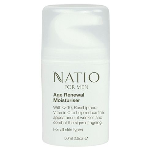 Natio Natio For Men Age Renewal Moisturiser