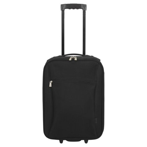 Tesco 2-Wheel Small Black Suitcase