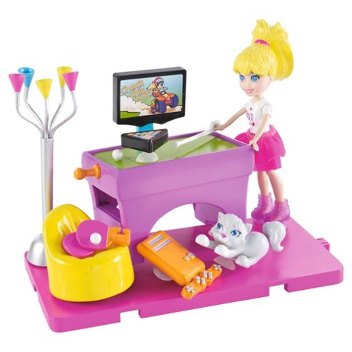 Polly Pocket Stick with Style Pollys Games Room