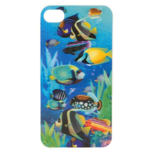 Tonic 3D Fish Case iPhone 4/4S Multi