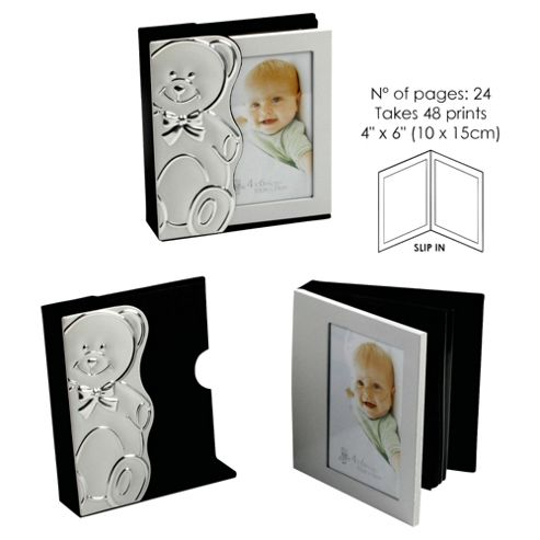 Aluminium Photo Album Bear On One Side Slide Out
