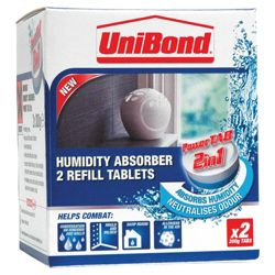 Unibond Humidity Refill Tablets 2x300g