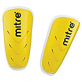 Mitre Vostok Shinguard, Yellow - Large