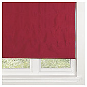 Faux Silk Lined Roman Blind 120x160cm Red