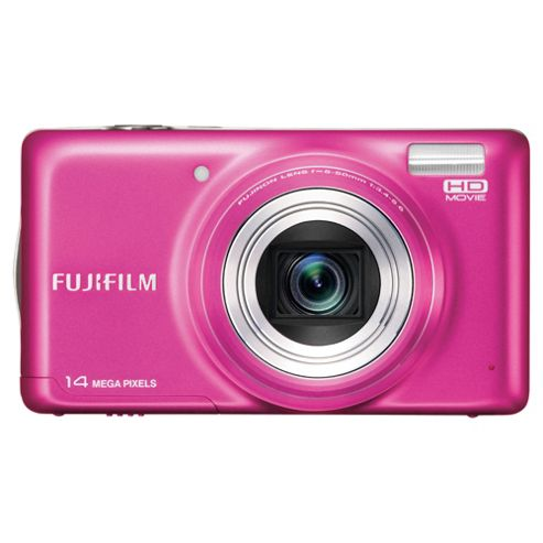 Fujifilm FinePix T350 Digital Camera Pink 14M 10x Optical Zoom 3.0