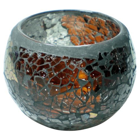 Tesco Mosaic Maxi Sotuhstar Tealight Holder Bronze