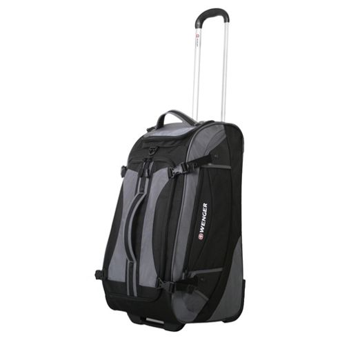 Wenger SwissGear Rolling Upright Duffel Bag, Black 24