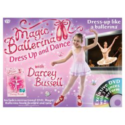 Magic Ballerina Dress Up and Dance