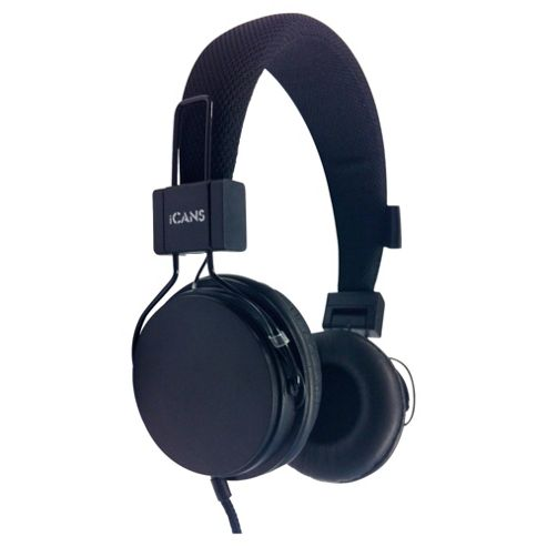 iCandy iCans Headphones With Microphone Black