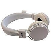 iCandy iCans Headphones With Microphone White
