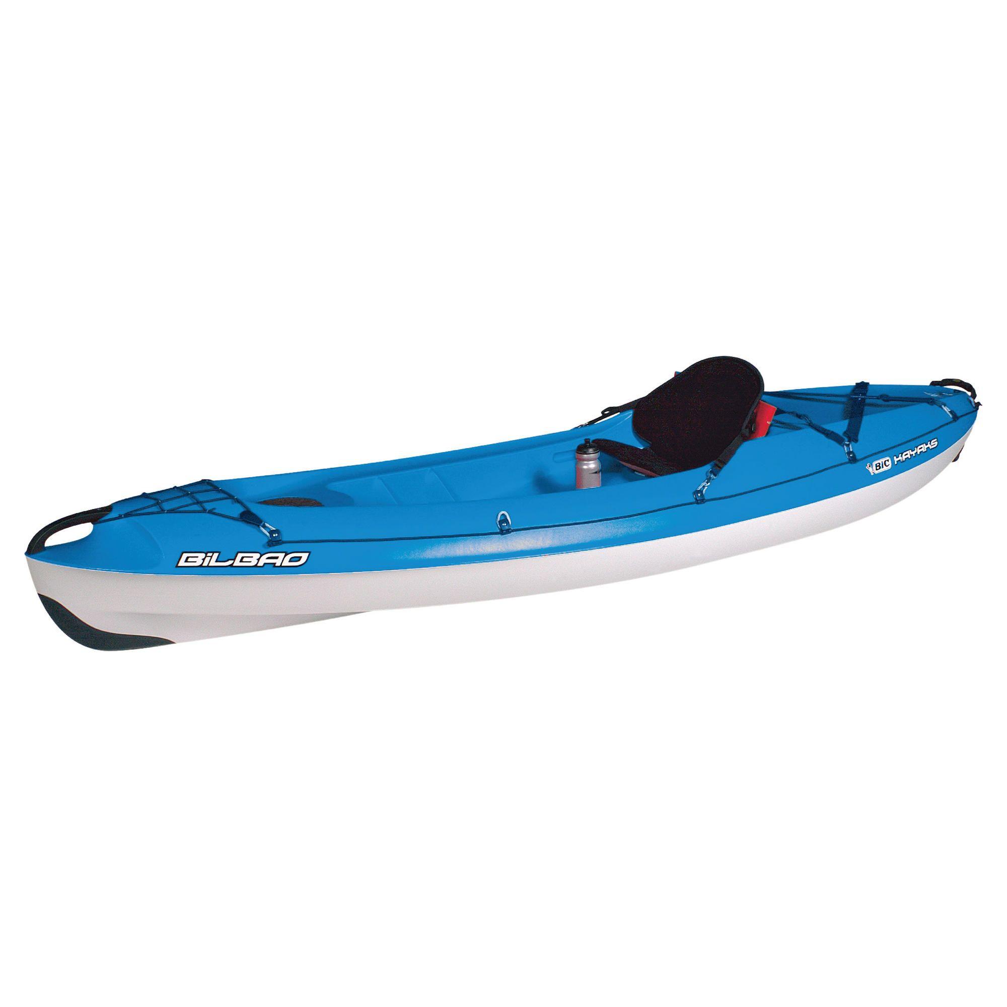 Bic Bilbao 1 Man Sit-On-Top Kayak Blue Package at Tesco Direct
