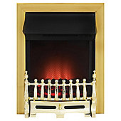 Adam Blenhiem Brass Electric Fire
