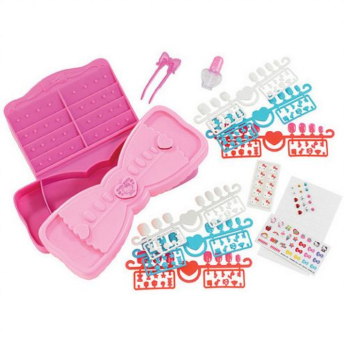 Aqua Beads Style Hello Kitty Nail Art Studio
