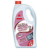 BISSELL Wash & Protect 2X Concentrated Carpet Washing Formula with Scotchgard Protection - Pet Stain & Odour Removal