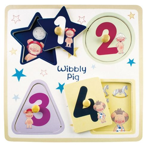 Wibbly Pig Shape Puzzle