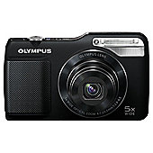 Olympus VG-170 Digital Camera, Black, 14MP, 5x Optical Zoom, 3.0 inch LCD Screen