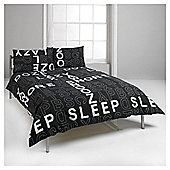 Crossword King Size Duvet Set