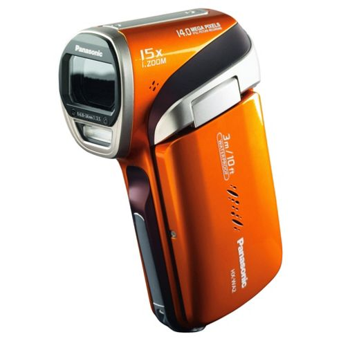 Panasonic WA2 HD Waterproof Camcorder, Orange