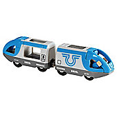 Brio Travel Battery Train Wooden Toy