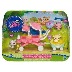 Littlest Pet Shop Stroller & Babies