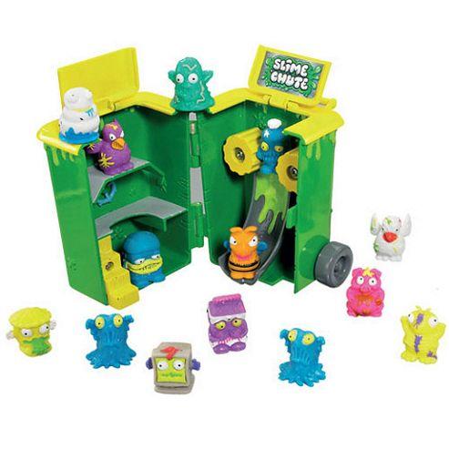 The Trash Pack Mini Play Set - Wheelie Bin Slime Chute