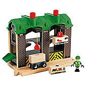 Brio Cargo Warehouse Wooden Toy