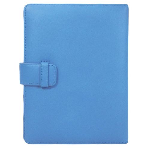 Tesco Finest Leather Folio Kindle Case - Blue
