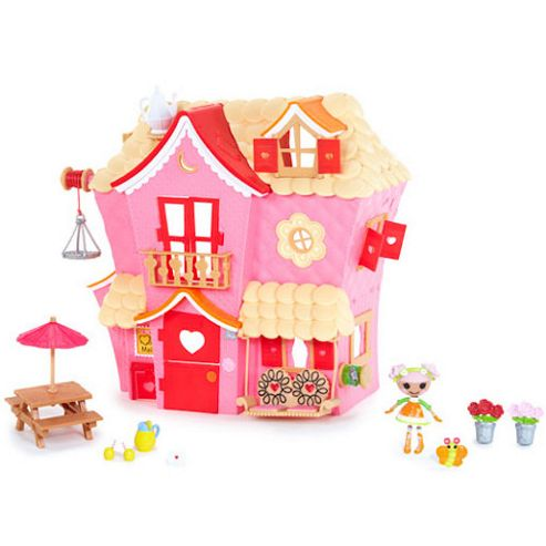 Mga Entertainment Lala-Oopsie Mini Sew Sweet House Playhouse with Mini Doll