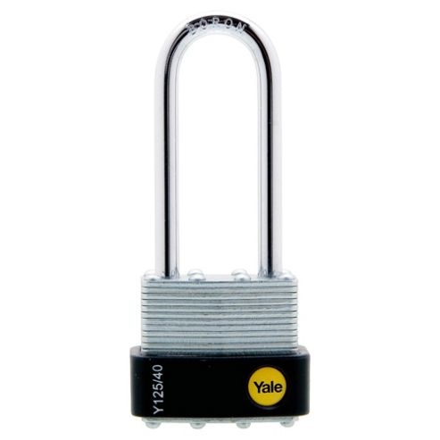 Yale 40mm Laminated Long Shackle Padlock