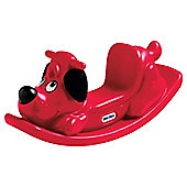 Little Tikes Rocking Puppy See Saw, Red