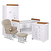 Tutti Bambini 4 Piece 3 Bears Nursery Roomset