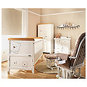 Tutti Bambini 4 Piece Nursery Roomset, 3 Bears, Free home assembly