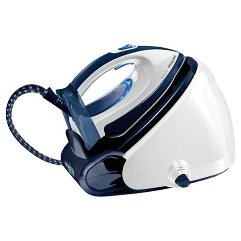 Philips GC9220/02 Steam Generator with Ceramic Plate - White/Blue