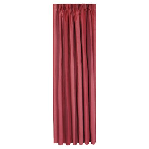 Tesco Hampton Stripe Pencil Pleat Unlined Curtains W168xL229cm (66x90