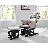 Tutti Bambini GC35 Glider Chair & Stool - Espresso