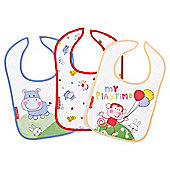 Fisher Price Discover & Grow 3 pack Bibs