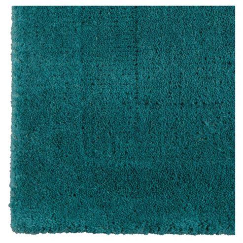 Tesco Plain Wool Runner 70 x 200cm, Teal