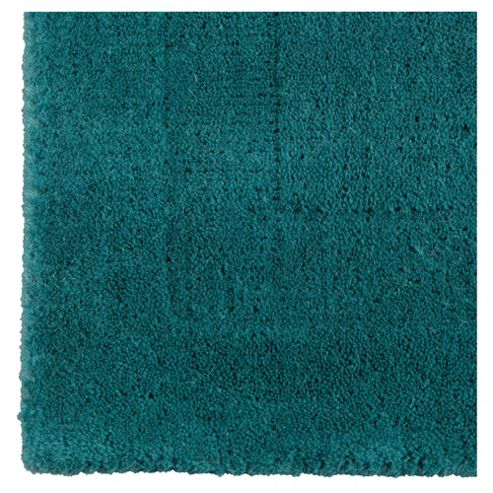 Tesco Plain Wool Runner, Teal 70x200cm