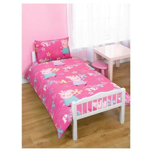Character World Peppa Pig Duvet & Pillow Set