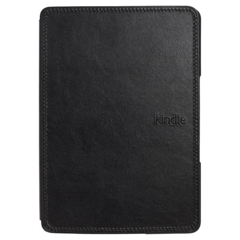 Fine Kindle Leather Cover, Black