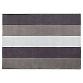 Tesco Rugs Vertical Stripe Rug Charcoal 150X240Cm