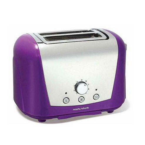 Morphy Richards 44387 2 Slice Toaster - Purple
