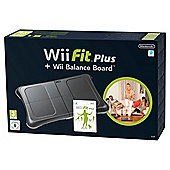 Wii Fit Plus with Black Balance Board