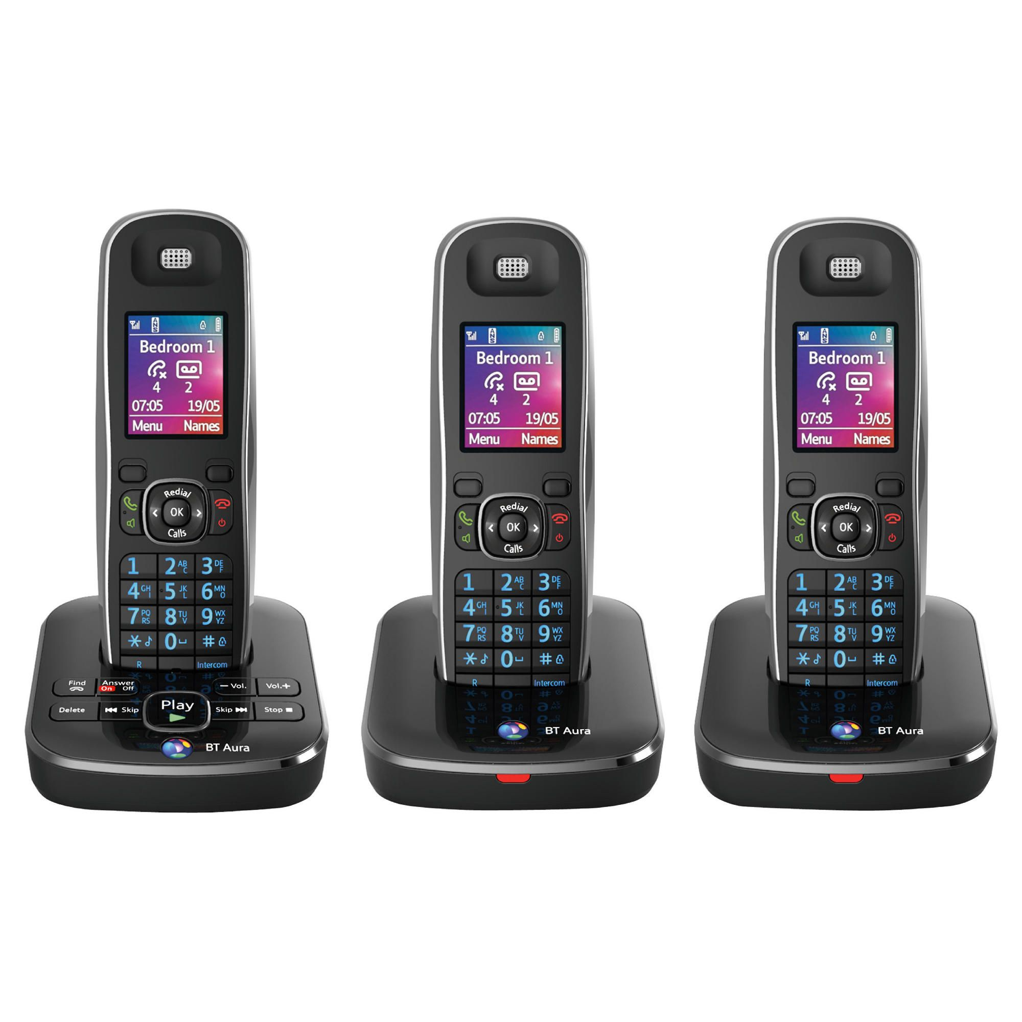 BT Aura 1500 cordless Telephone – Set of 3