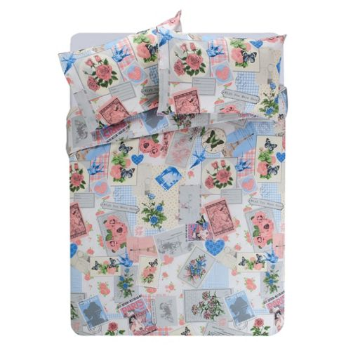 Postcard Single Duvet Set