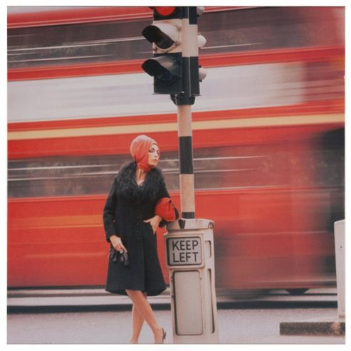 Traffic Queen 1960 Canvas