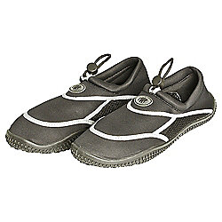 TWF Adult Wetshoes, Black Size 10
