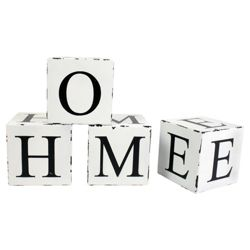 Home Word Blocks